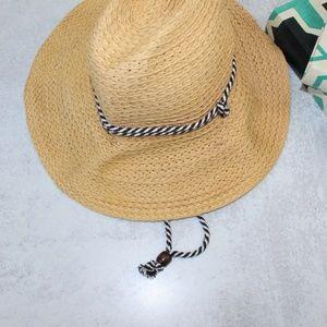 Goodfellow Beach Fedora Straw Hat Bohemian style